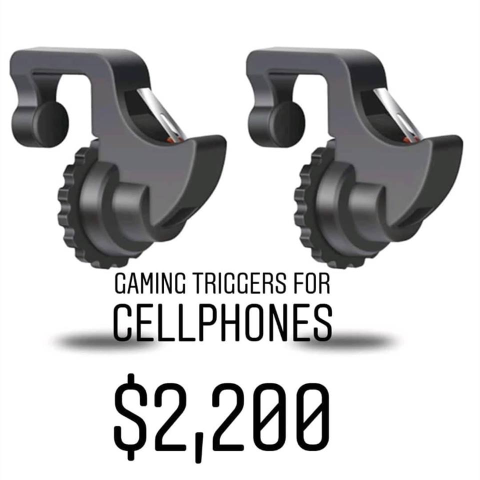 Gaming Triggers for cellphones
