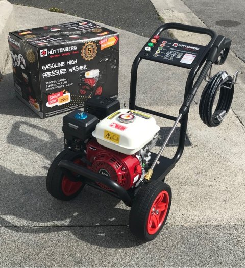 Pre Owned Huttenberg 3500 psi Pressure Washer Only $89,999