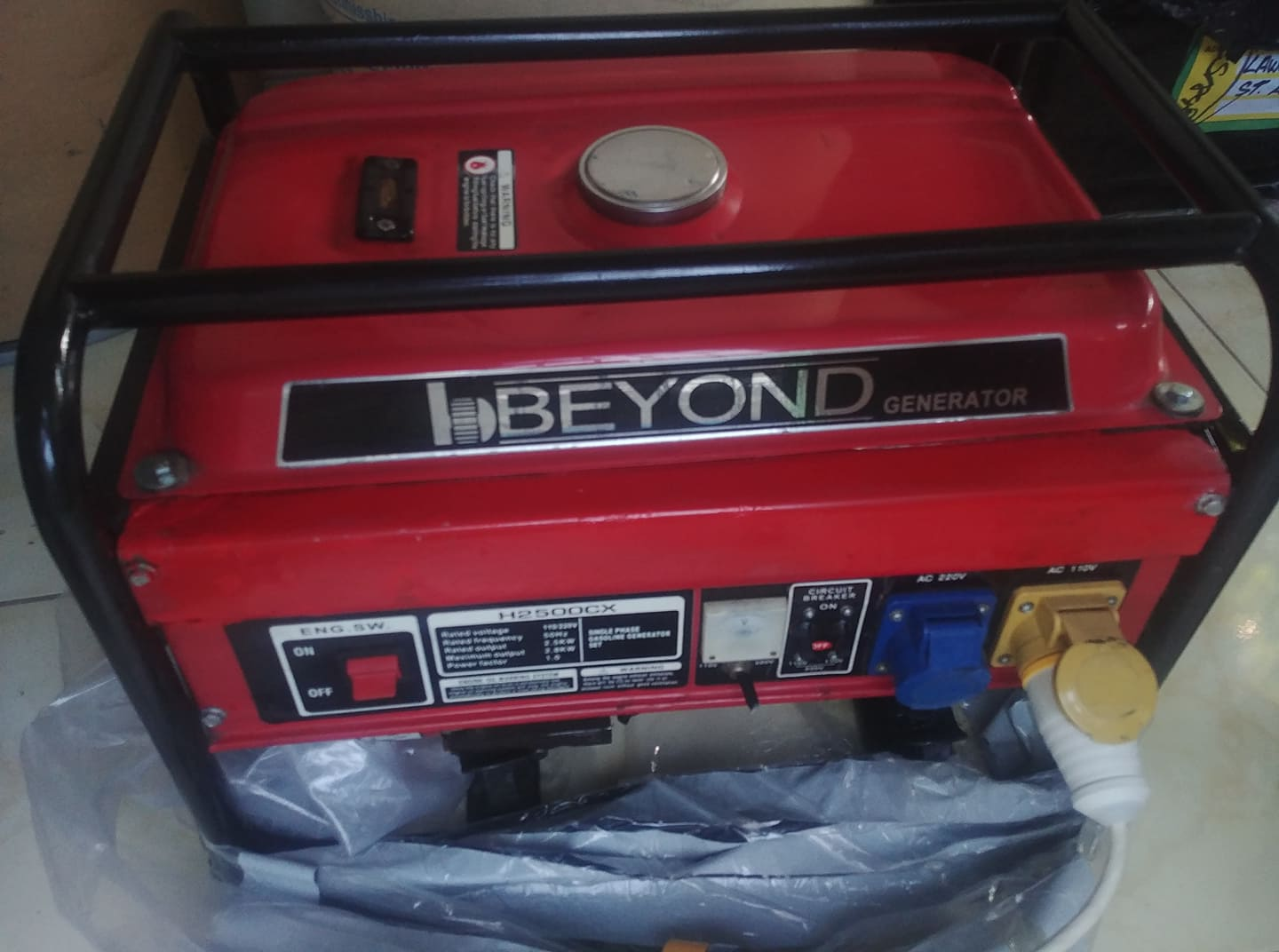 """Pre Owned Good Condition """"Beyond"""" Generator $84,999"""
